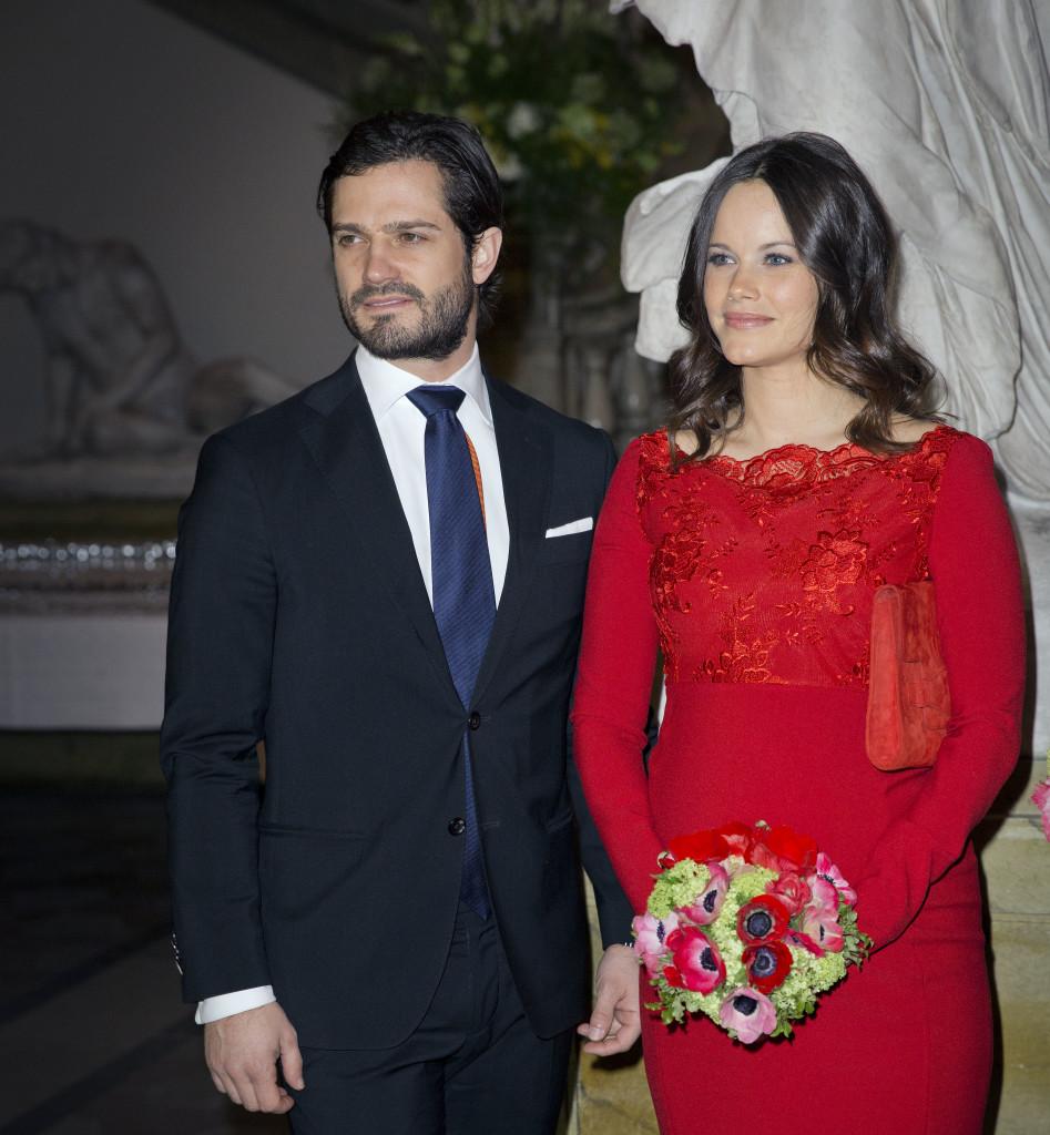 Prins Carl Phillip og prinsesse Sofia