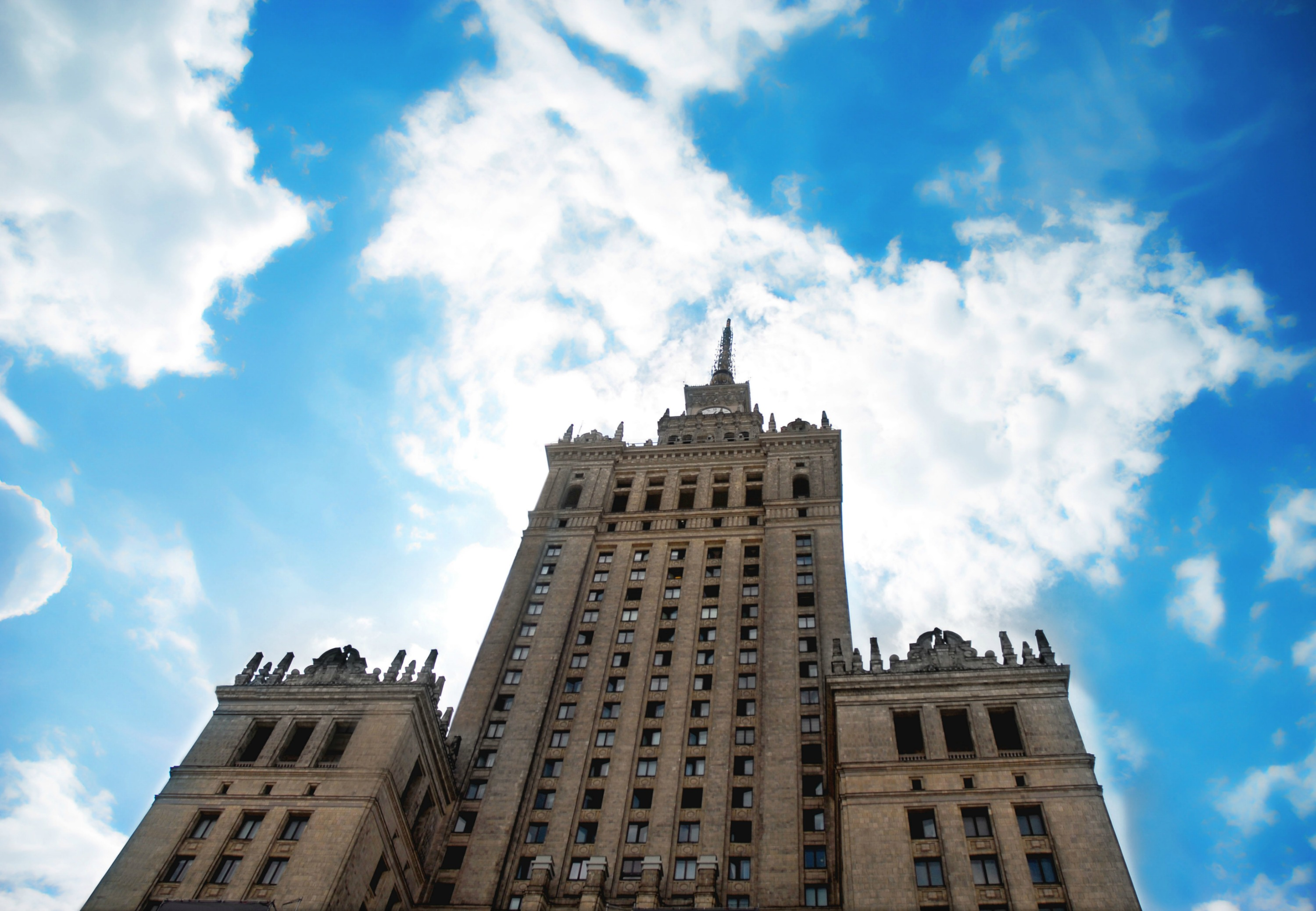 Palace of Culture and Science i Warszawa. (Foto: All Over)