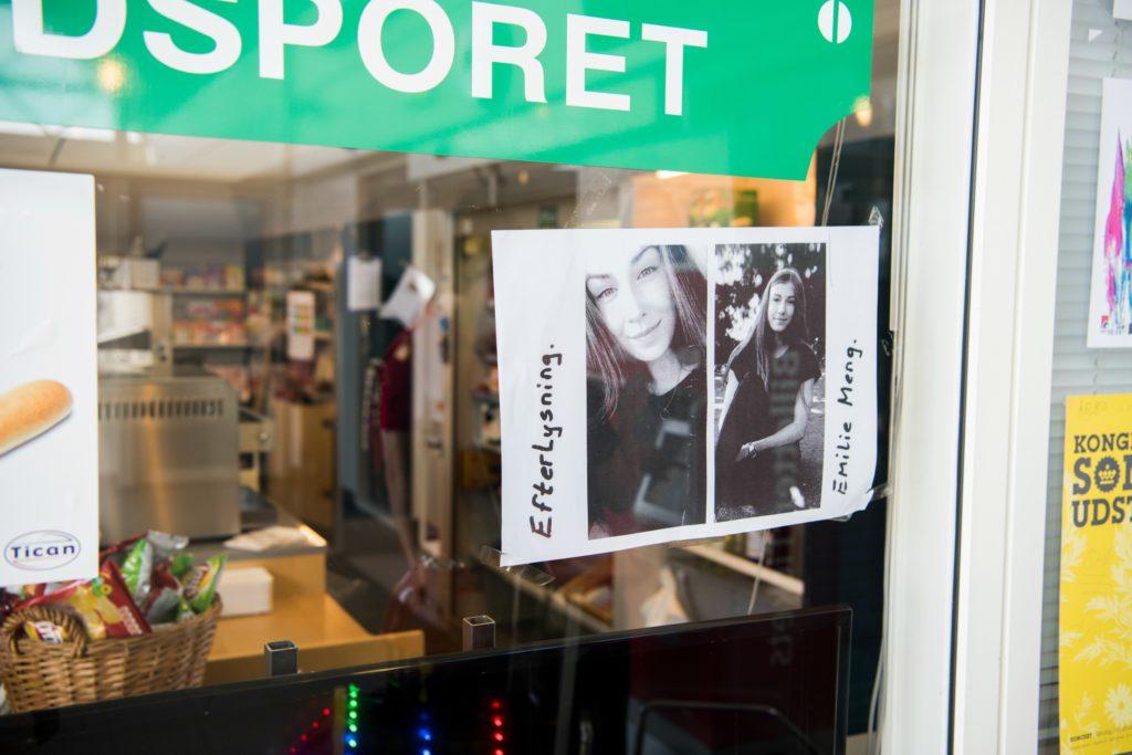 Der er flere henvendelser i sagen om den forsvundne Emilie Meng, men ingen har indtil videre båret frugt. (Foto: Polfoto)