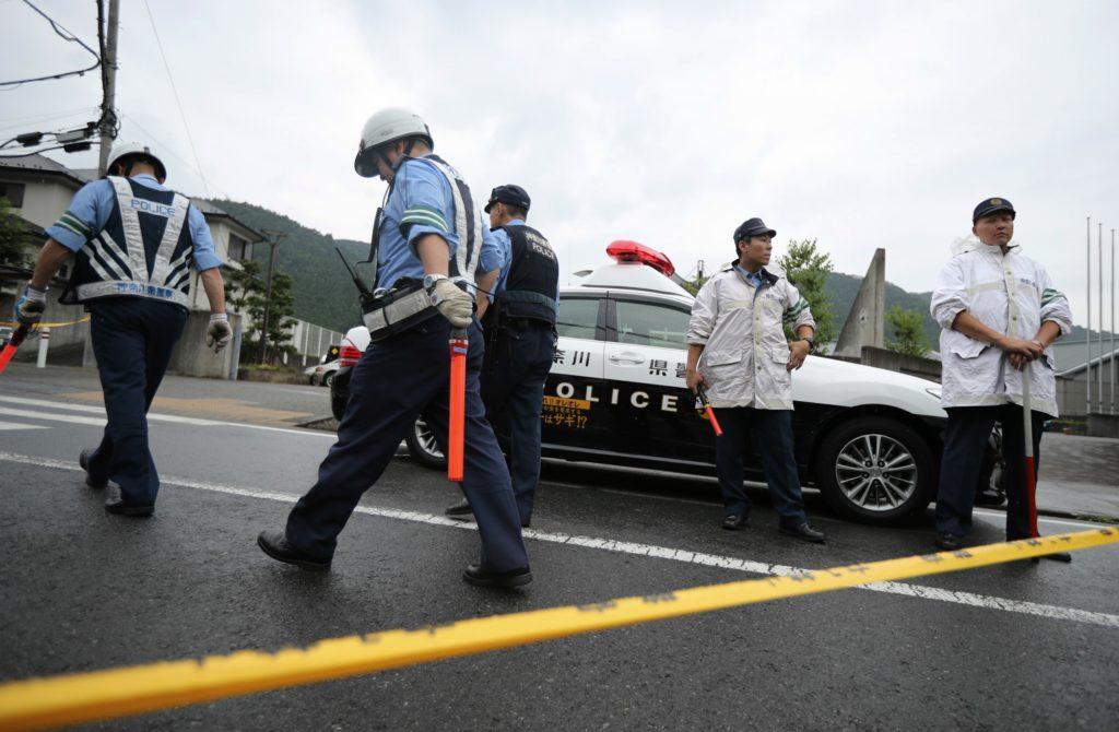 En mand er gået amok med en kniv på et handicaphjem i Japan. (Foto: Polfoto)