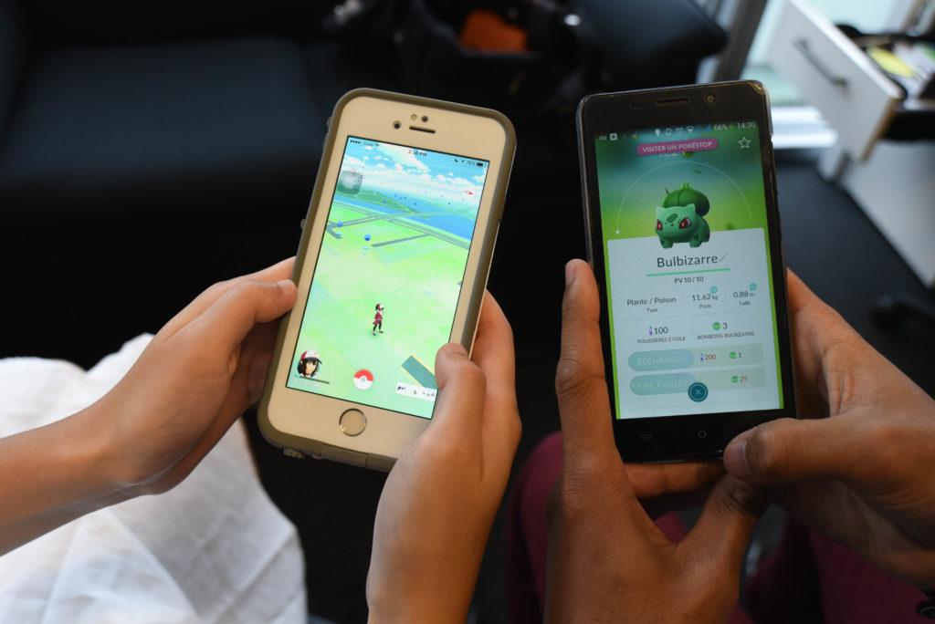 mærkelige ting, pokemon, iphones, telefoner, smartphones, mobilspil, niantic, pokemon go