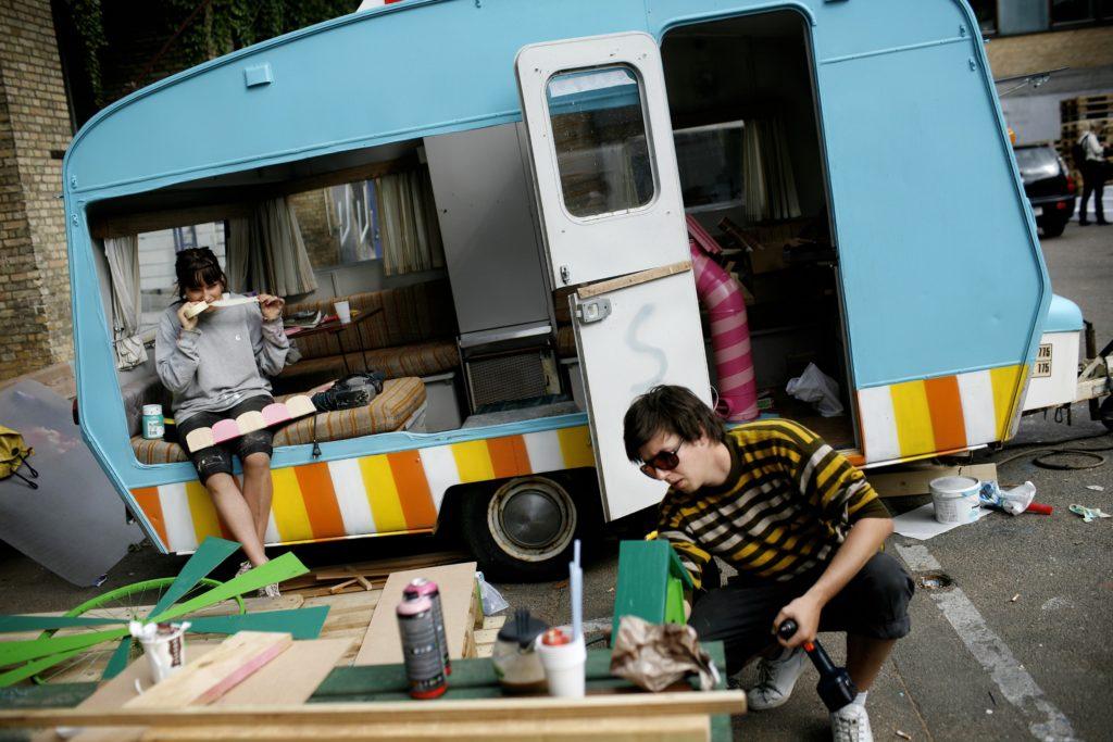 Trailerpark Festival lukker og slukker. (Foto: Polfoto)