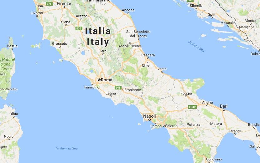 Italien rystet af voldsomt jordskælv - seks døde. Det er i regionerne Lazio, Umbrien og Marche, hvor skælvet har ramt. Jordskælvet kunne mærkes i Rom, der ligger 170 kilometer væk fra epicenteret. (Foto: Polfoto)