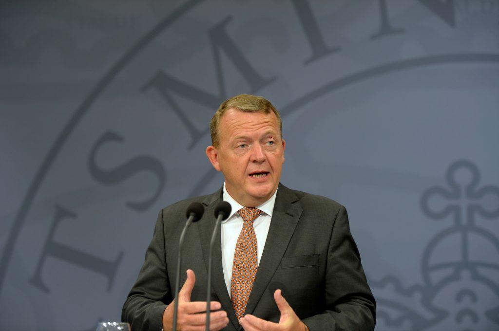 Lars Løkke inviterer blå blok med i ny regering. (Foto: Polfoto)