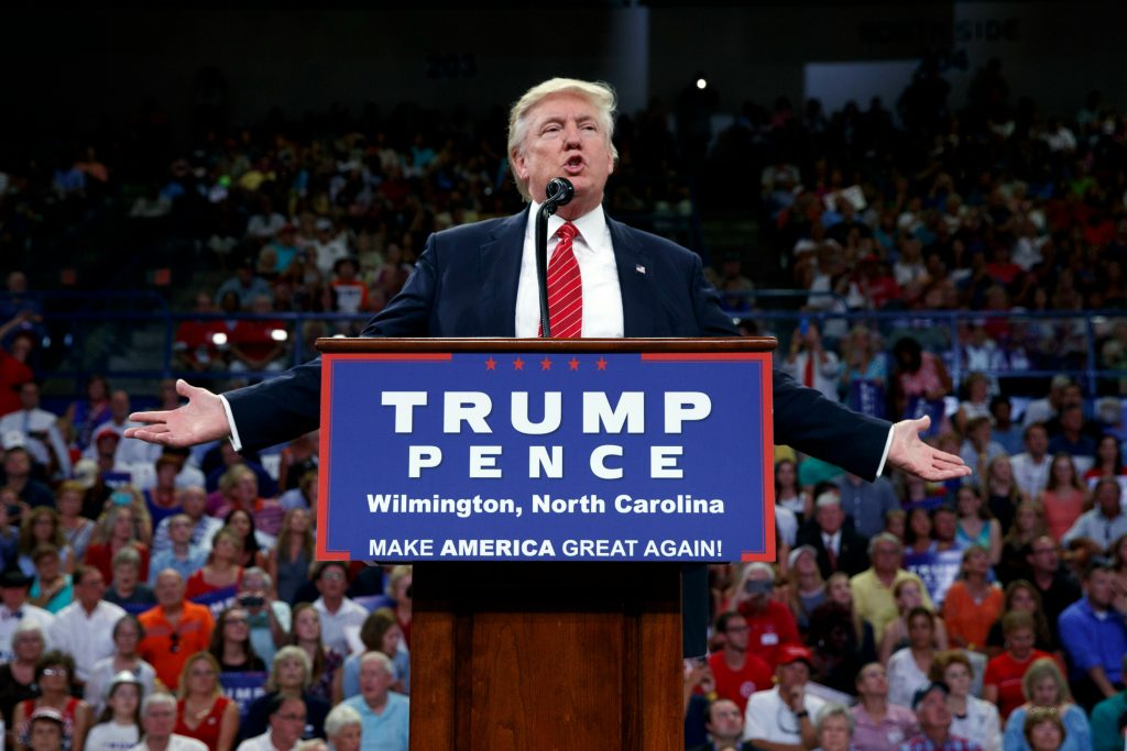 Trump appellerer til mange amerikanere. (Foto: Polfoto)