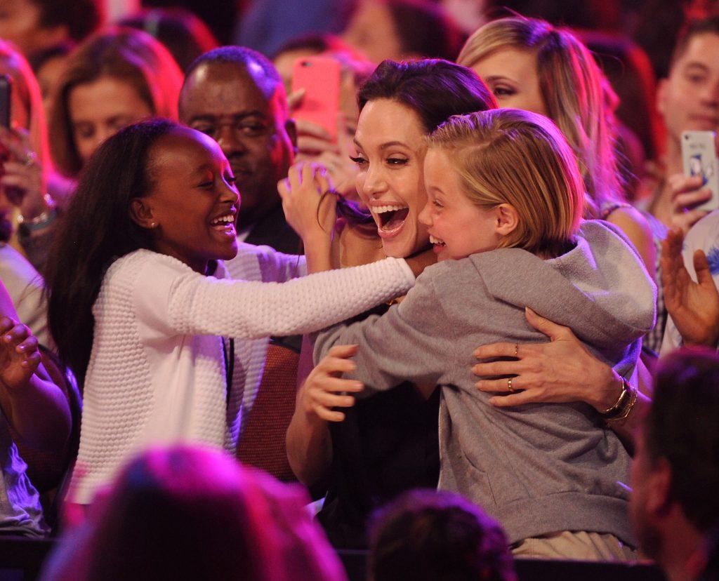 Zahara Jolie-Pitt, Angelina Jolie and Shiloh Jolie-Pitt