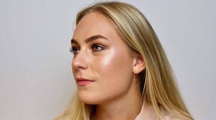 Amalie Wibrand makeup