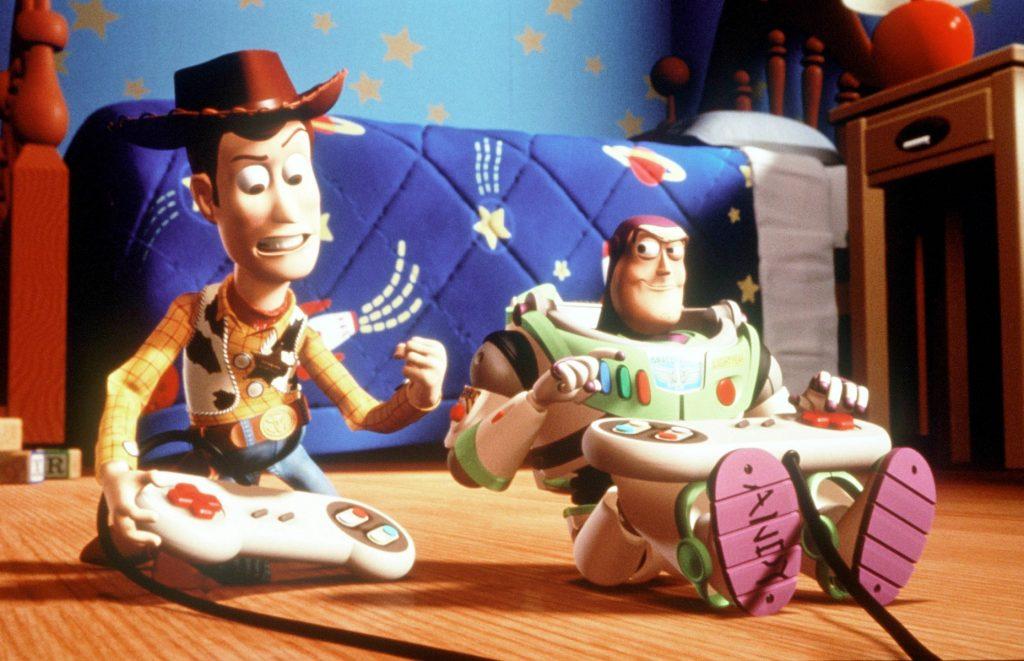 toy story bromance woody buzz