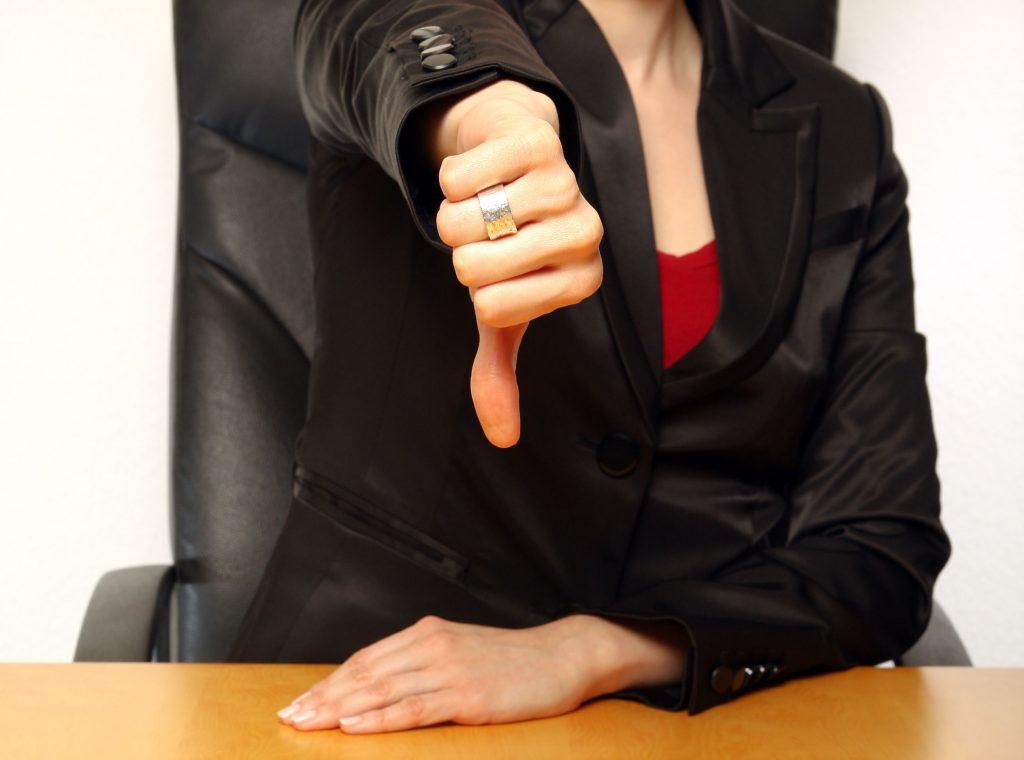 Det må du ikke gøre til en jobsamtale