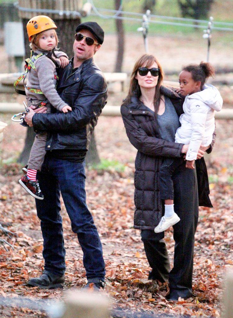 Angelina Jolie And Brad Pit