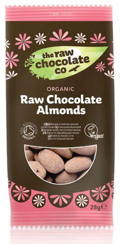 mandler med chokolade