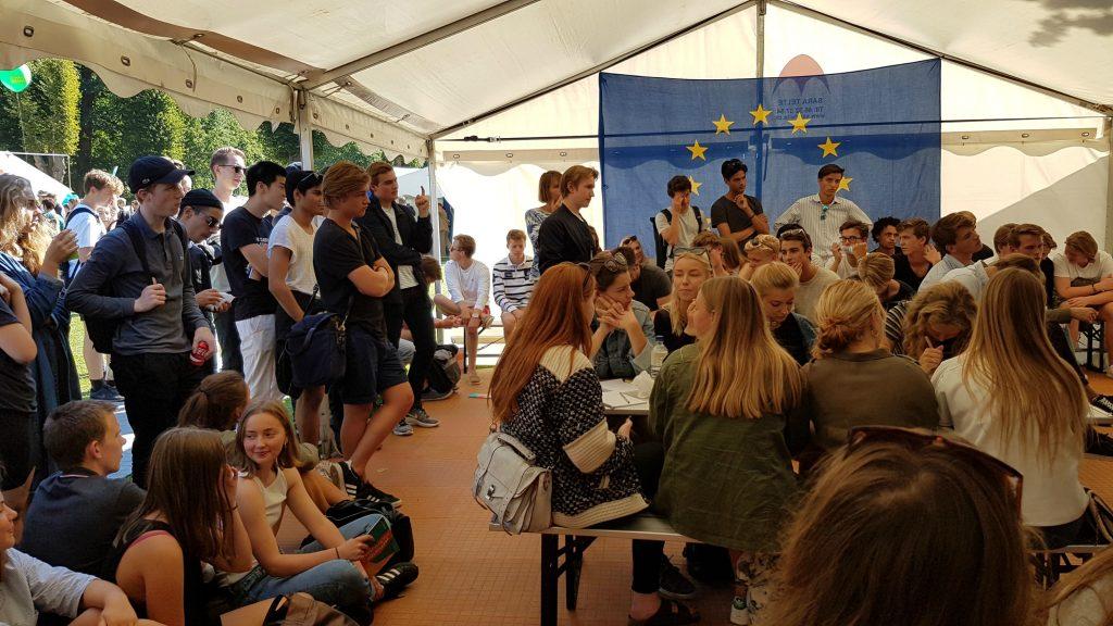 EU-debat på Ungdommens Folkemøde 2016. (Foto: Camilla Falkenberg)