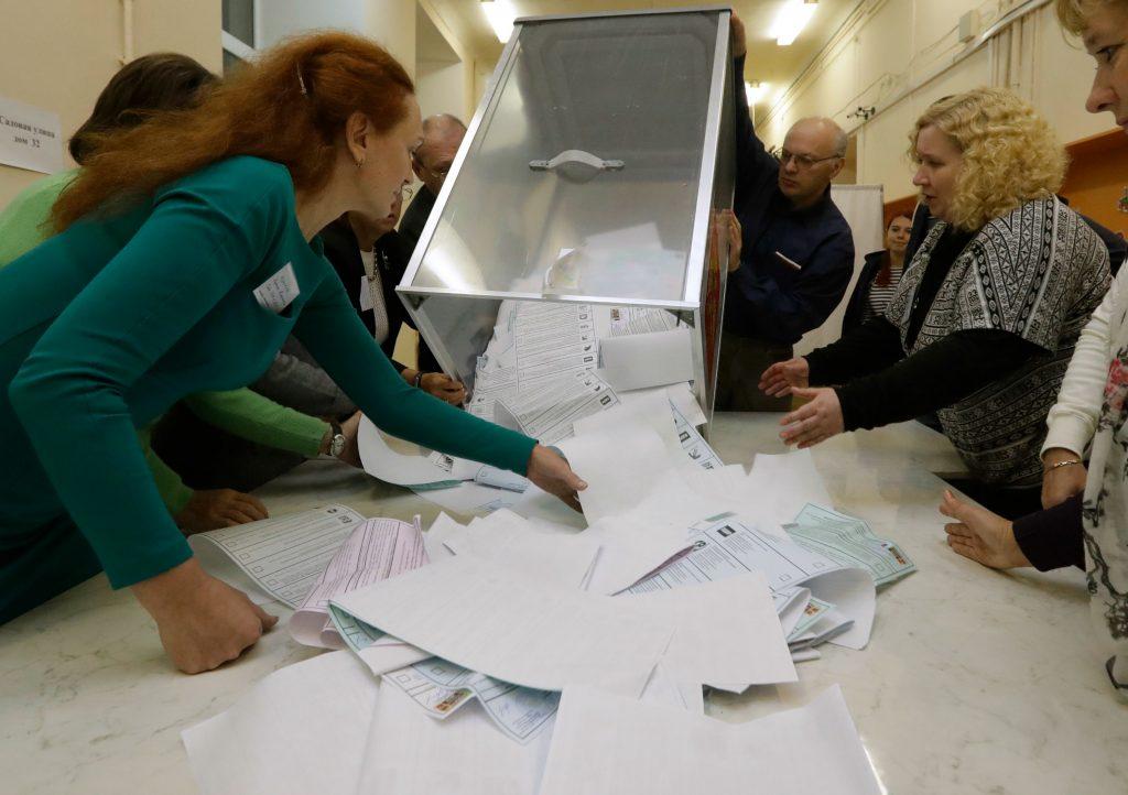 Putin vandt stort ved russisk valg. (Foto: Polfoto)