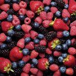 Background of fresh berries.