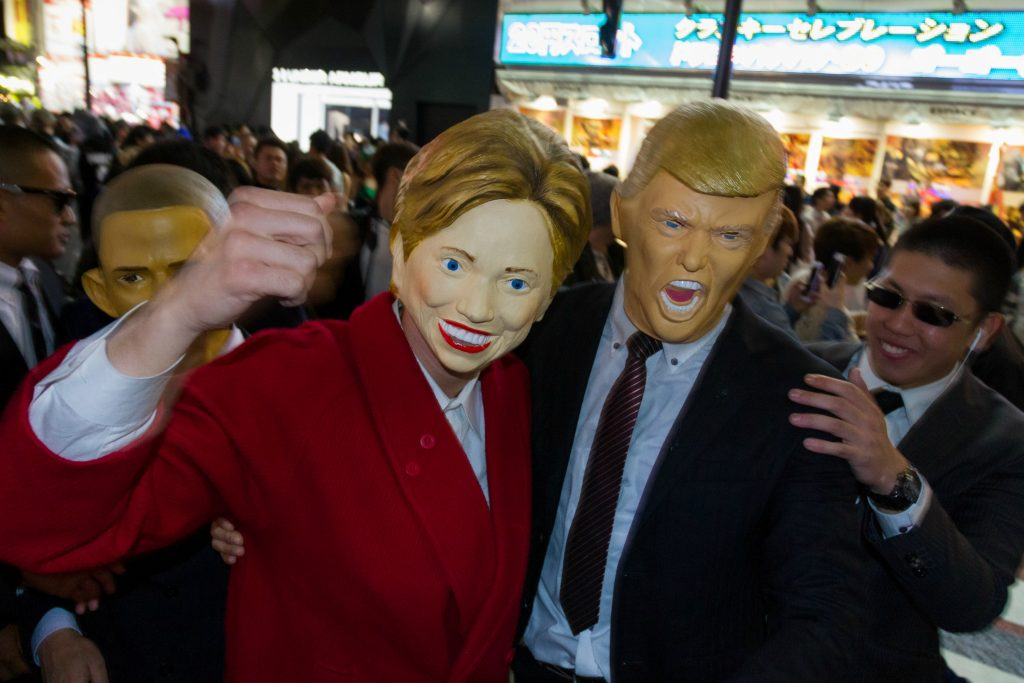 Kulturtilbud november Documentary evening - Trump vs. Clinton