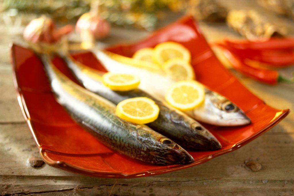 Fisk to gang om ugen