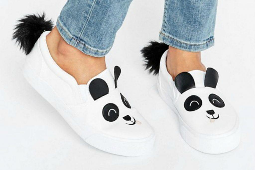 Asos panda sneakers