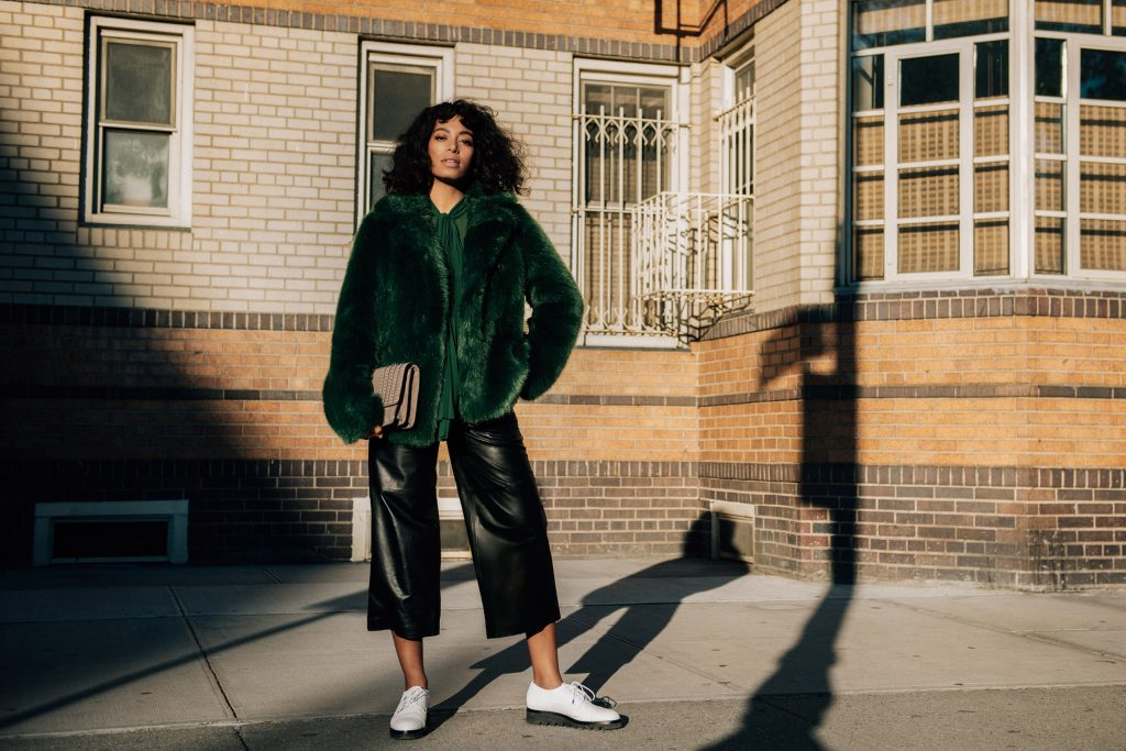 "Solange Knowles does ""The Walk"" in Michael Kors. Outfit, stjæl stilen"
