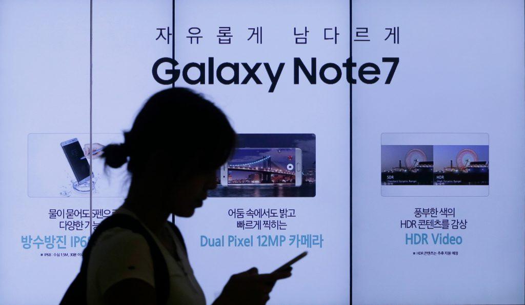 Fly evakueret efter brand i Samsung-telefon. (Foto: Privat)