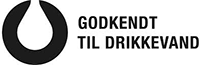 Godkendt Til Drikkevand-mærket. (Foto: Forbrugerrådet Tænk Kemi)