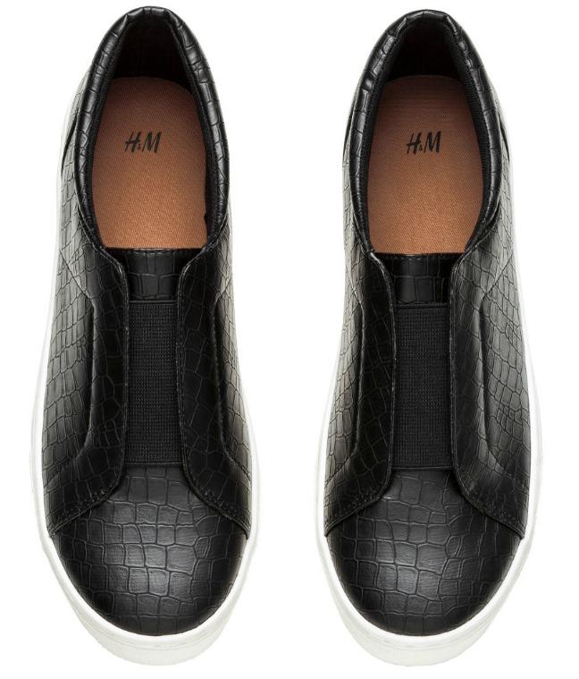 HM Sneakers med elastik