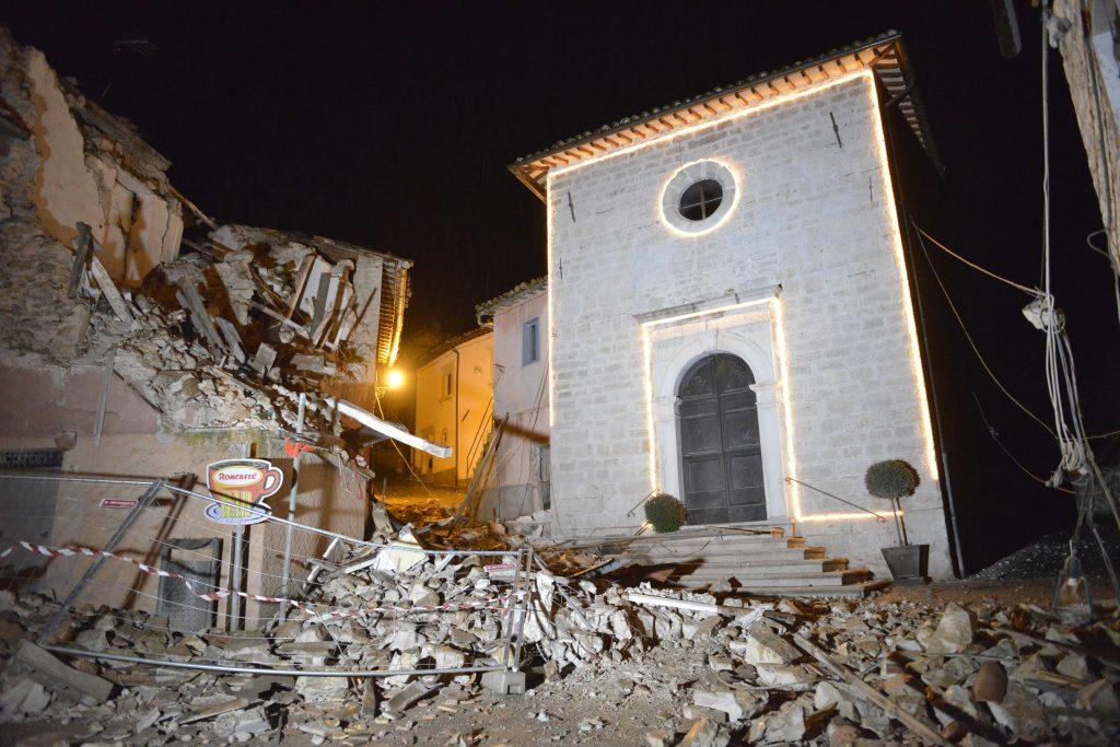Italien igen rystet af to kraftige jordskælv. (Foto: Polfoto)