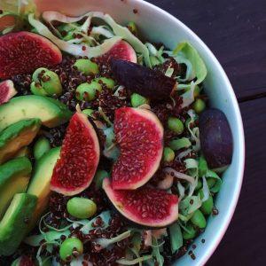 Emilias Glutenfri Køkken opskrifft quinoasalat