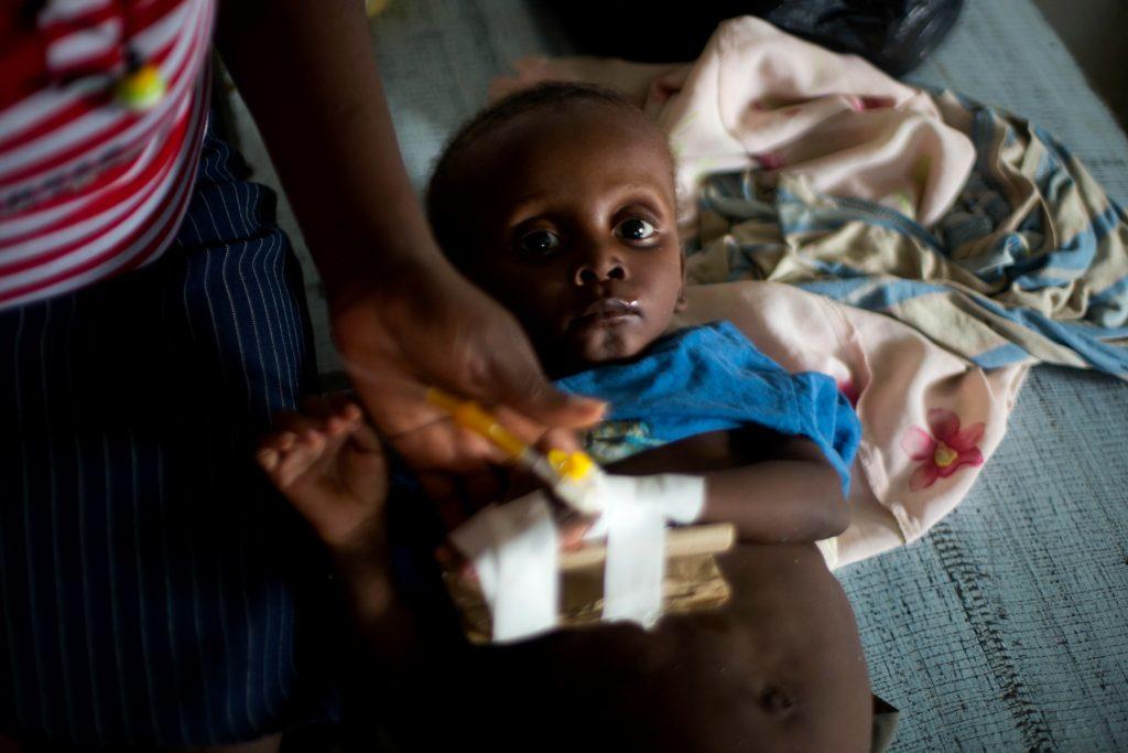 Haiti truet af koleraepidemi