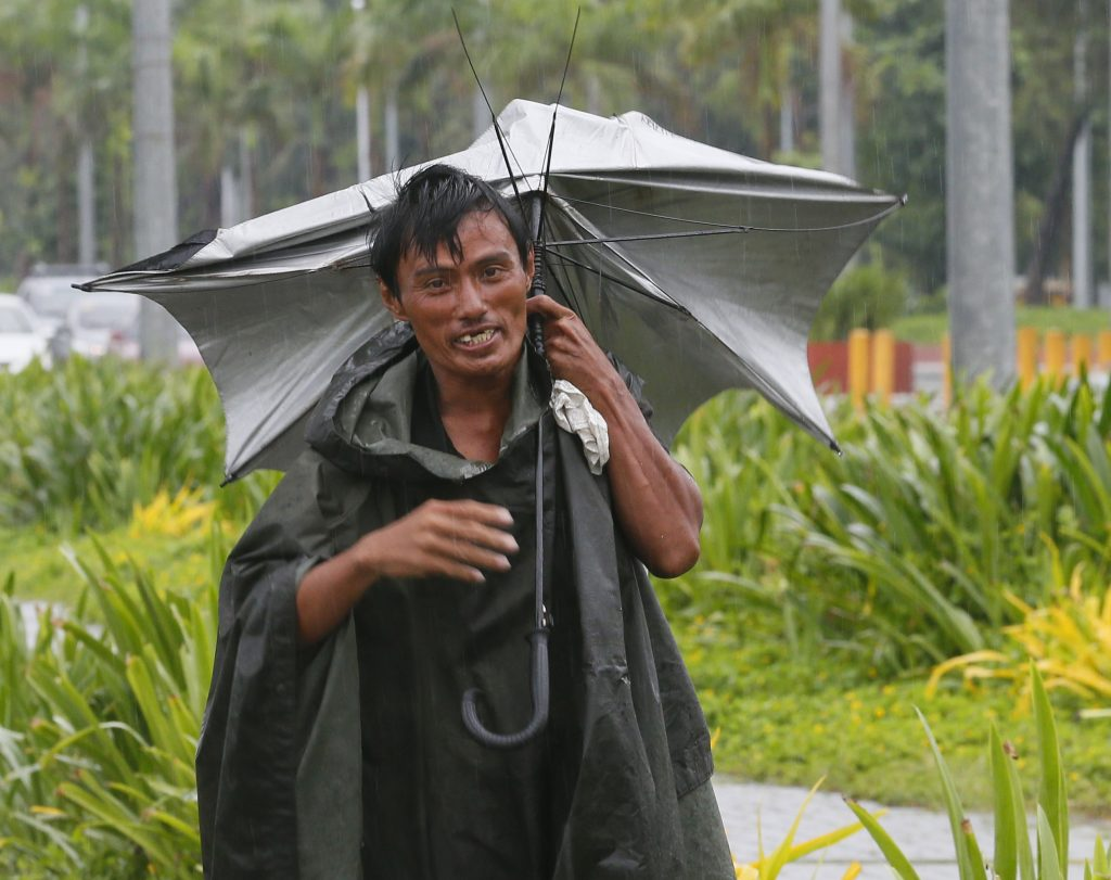 Supertyfon på vej mod Filippinerne