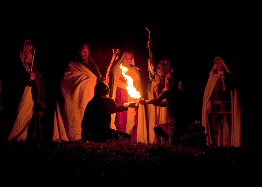 Samhain er Halloweens forgænger, hvor man fejrede efteråret og vinterens komme. (Foto: All Over).