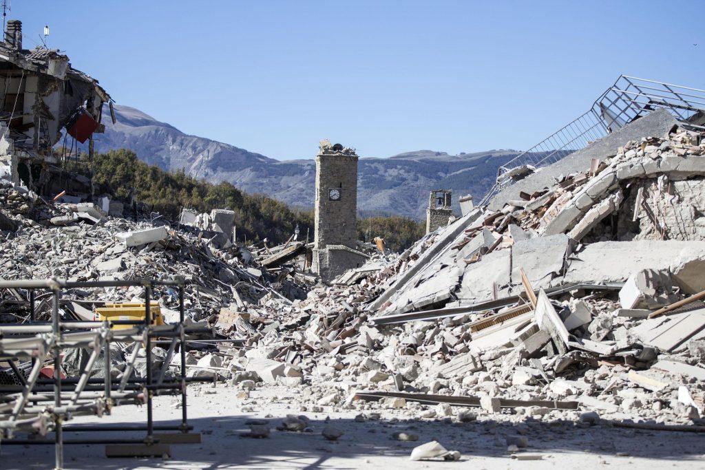 Italien rystes igen af voldsomt jordskælv. (Foto: Polfoto)