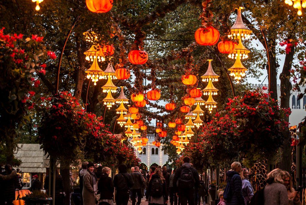 Tivoli har brugt meget energi på at få Halloween til Danmark. (Foto: Polfoto)