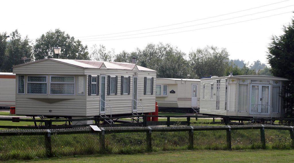 Esbjerg vil bosætte kontanthjælpsmodtagere i campingvogne, politikere frygter amerikanske trailer park-tilstande. (Foto: All Over)