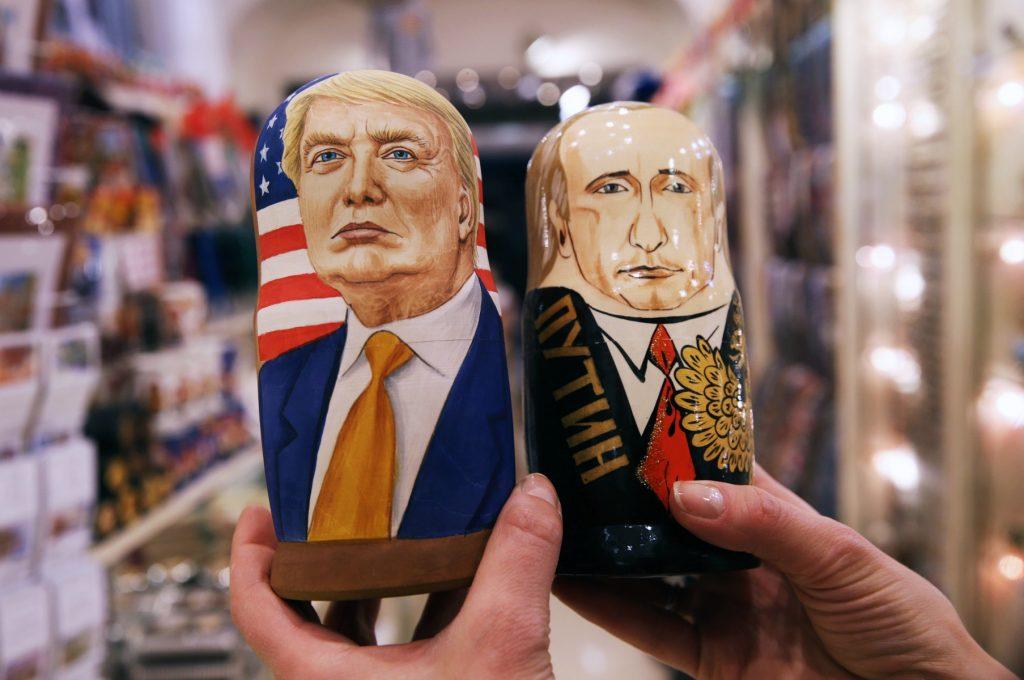 Trump har haft lang samtale med Putin