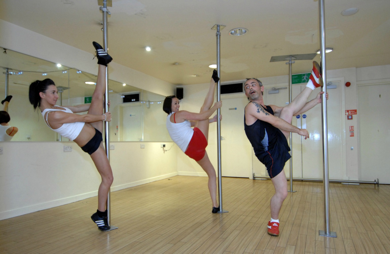 Super flot poledance i studio (Foto: All Over)
