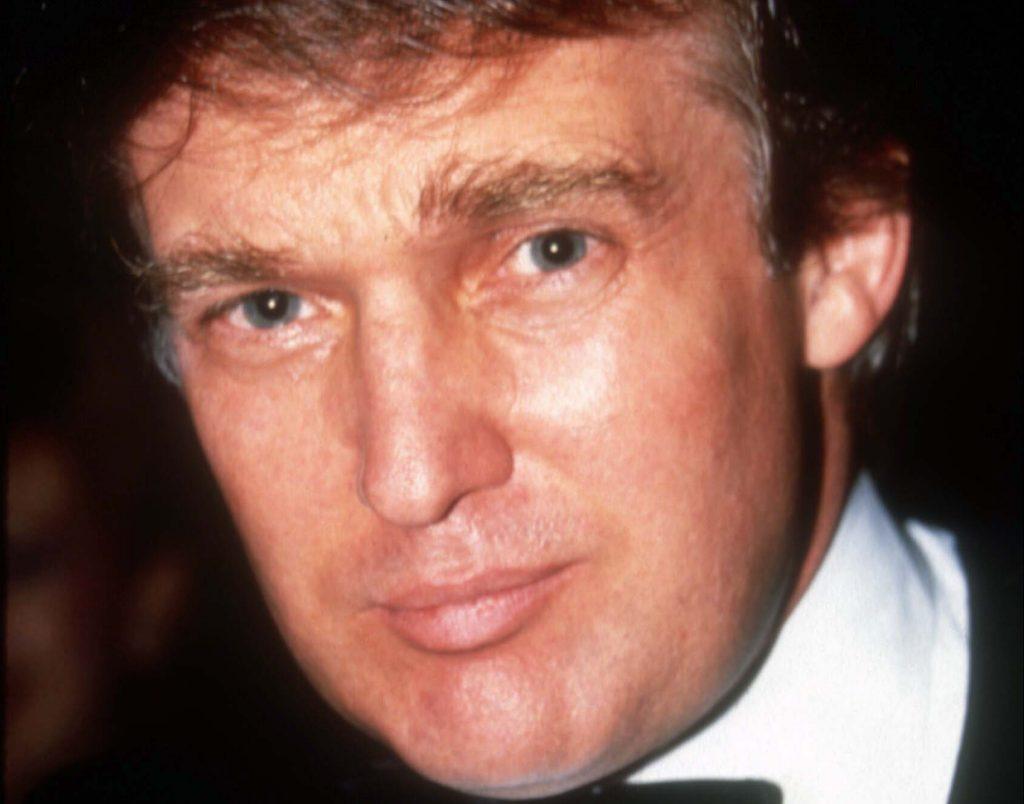 Trump i 1989. Foto: Polfoto)
