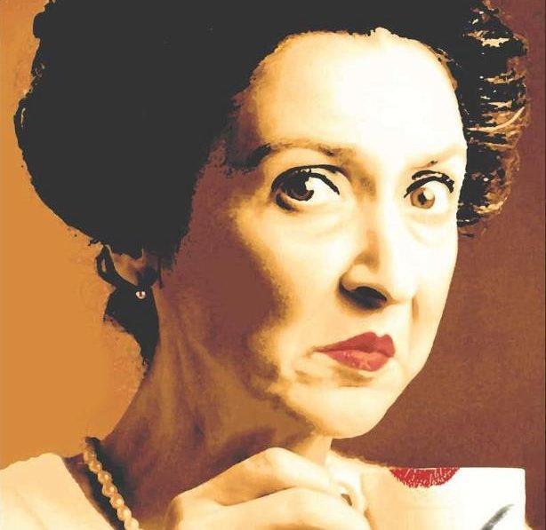 Jeanett Veronica Hindberg blev først kendt som figuren Bitterfissen Bethany. (Foto: Jeanett Hindberg og Turbulenz)