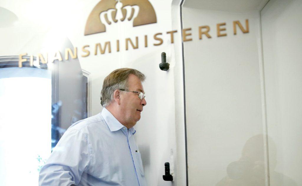Blå partier enige om finanslov. Her ses finansminister Claus Hjort Frederiksen. (Foto: Polfoto)