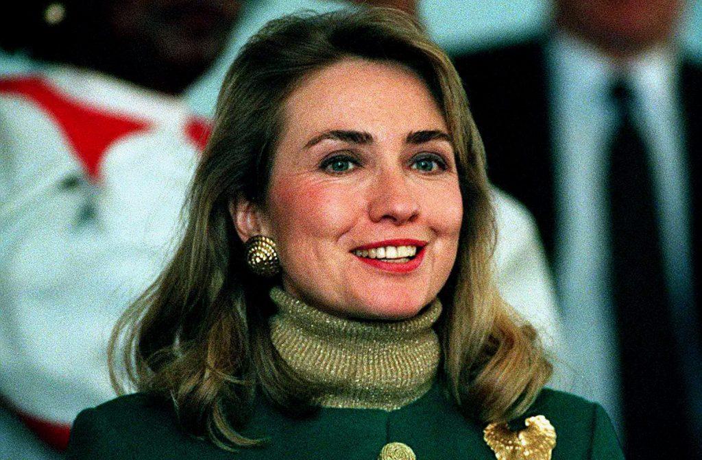 Clinton er en ambitiøs kvinde og allerede som ung var hun spået en stor karriere. Foto: Polfoto)