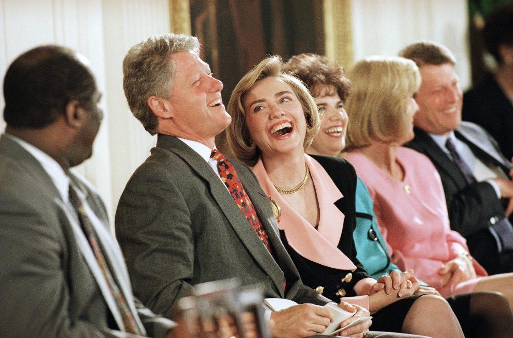 Der var delte meninger om den politisk engagerede Hillary Clinton. (Foto: Polfoto)
