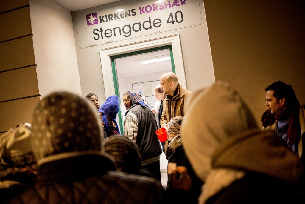 Kirkens Korshær: En landsindsamling til fattige danskere er nødvendig. (Foto: Polfoto)