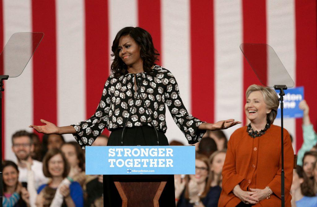 Kaldte Michelle Obama for en abe i høje hæle. (Foto: Polfoto)