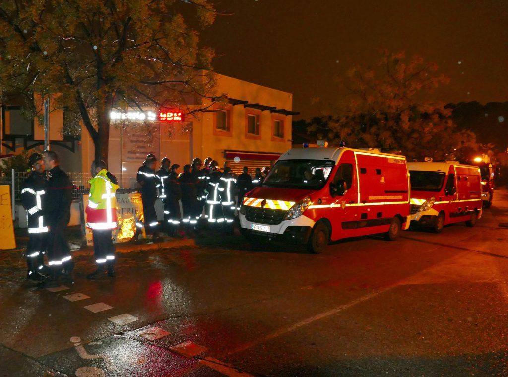 Maskeret mand dræber kvinde på fransk plejehjem for missionærer. (Foto: Polfoto)