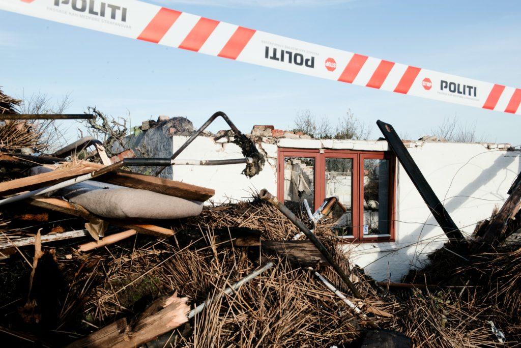 33-årig mand anholdt for Fjerritslev-brande (Foto: Polfoto)