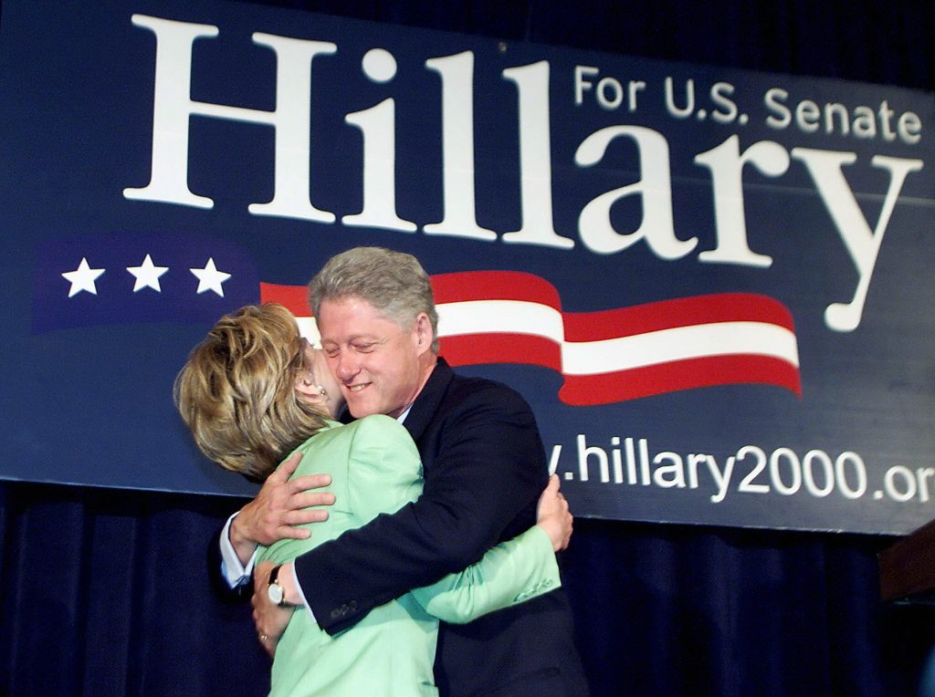 Efter tiden som førstedame gik Hillary Clinton efter en plads som senator i New York, som hun vandt. (Foto: Polfoto)