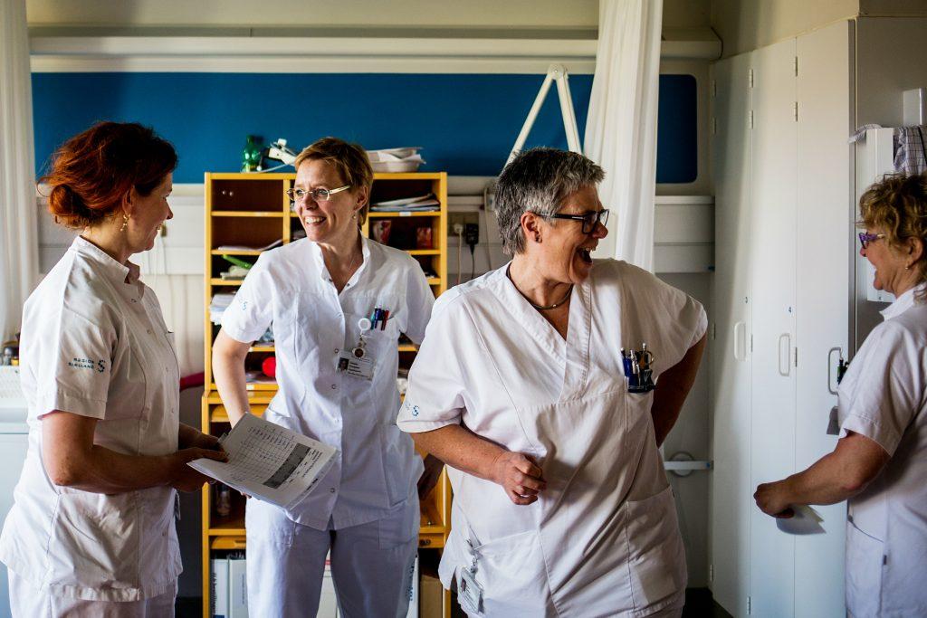 Personale har ikke tillid til nyt IT-system på landets hospitaler. Foto: Polfoto)