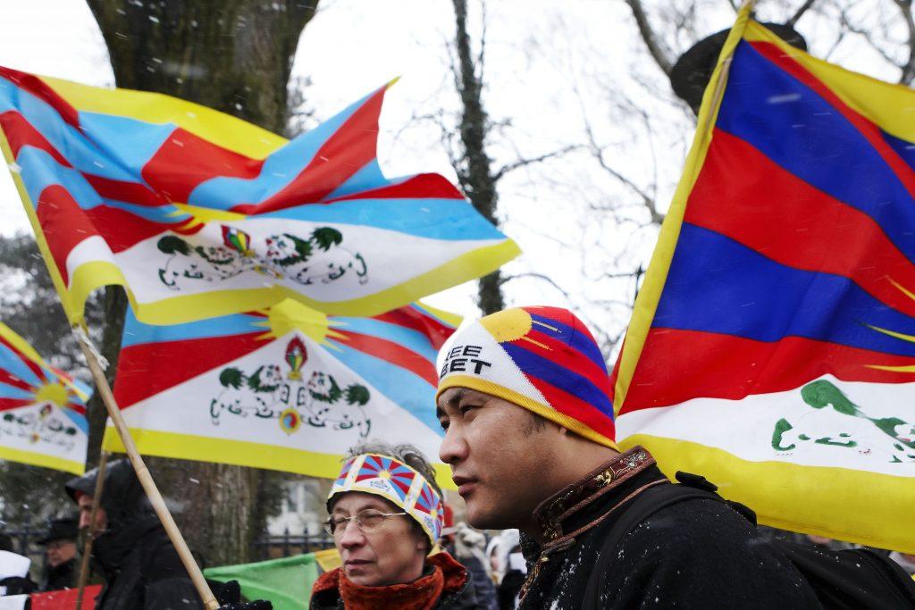 Tibet-sagen om demonstranter, der ikke måtte demonstrere starter i dag. (Foto: Polfoto)