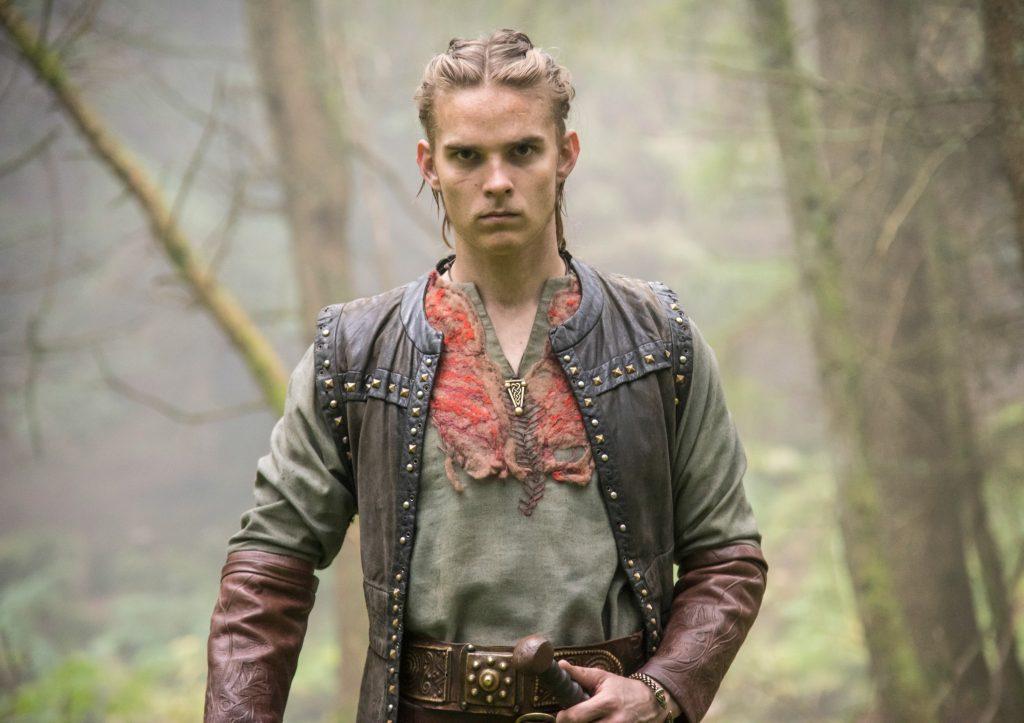 Marco Ilsø spiller en af Ragnars sønner, Hvitserk. (Foto: HBO)