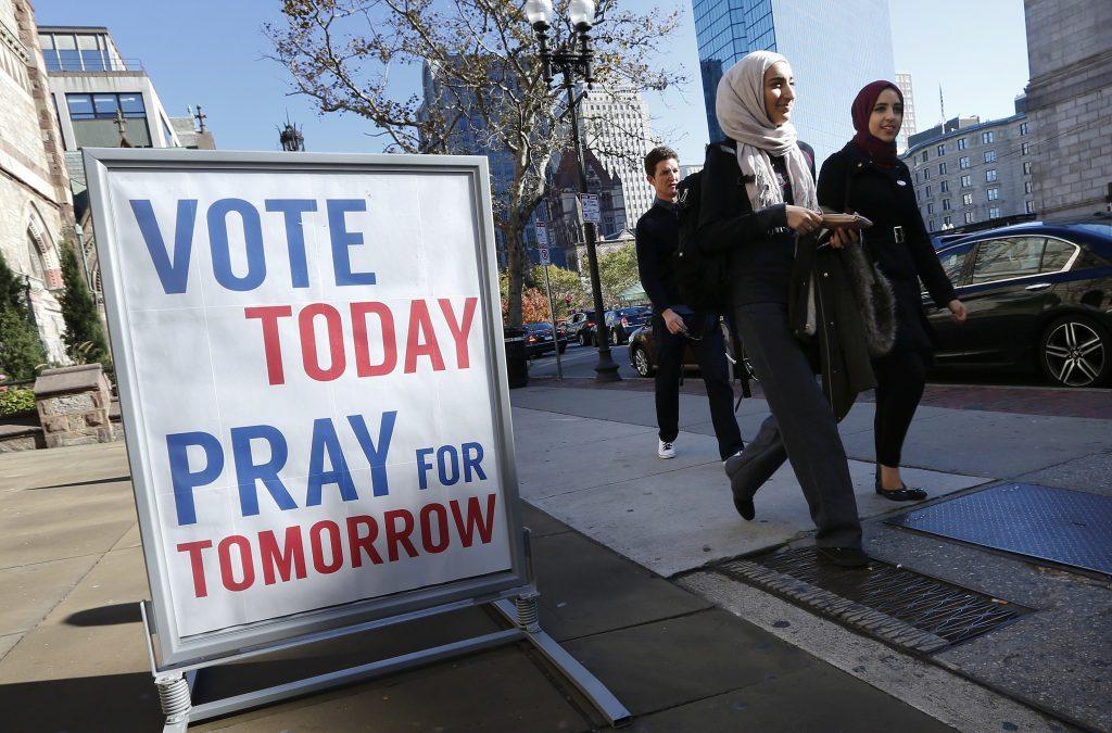 Stem i dag. Bed i morgen. (Foto: Polfoto)