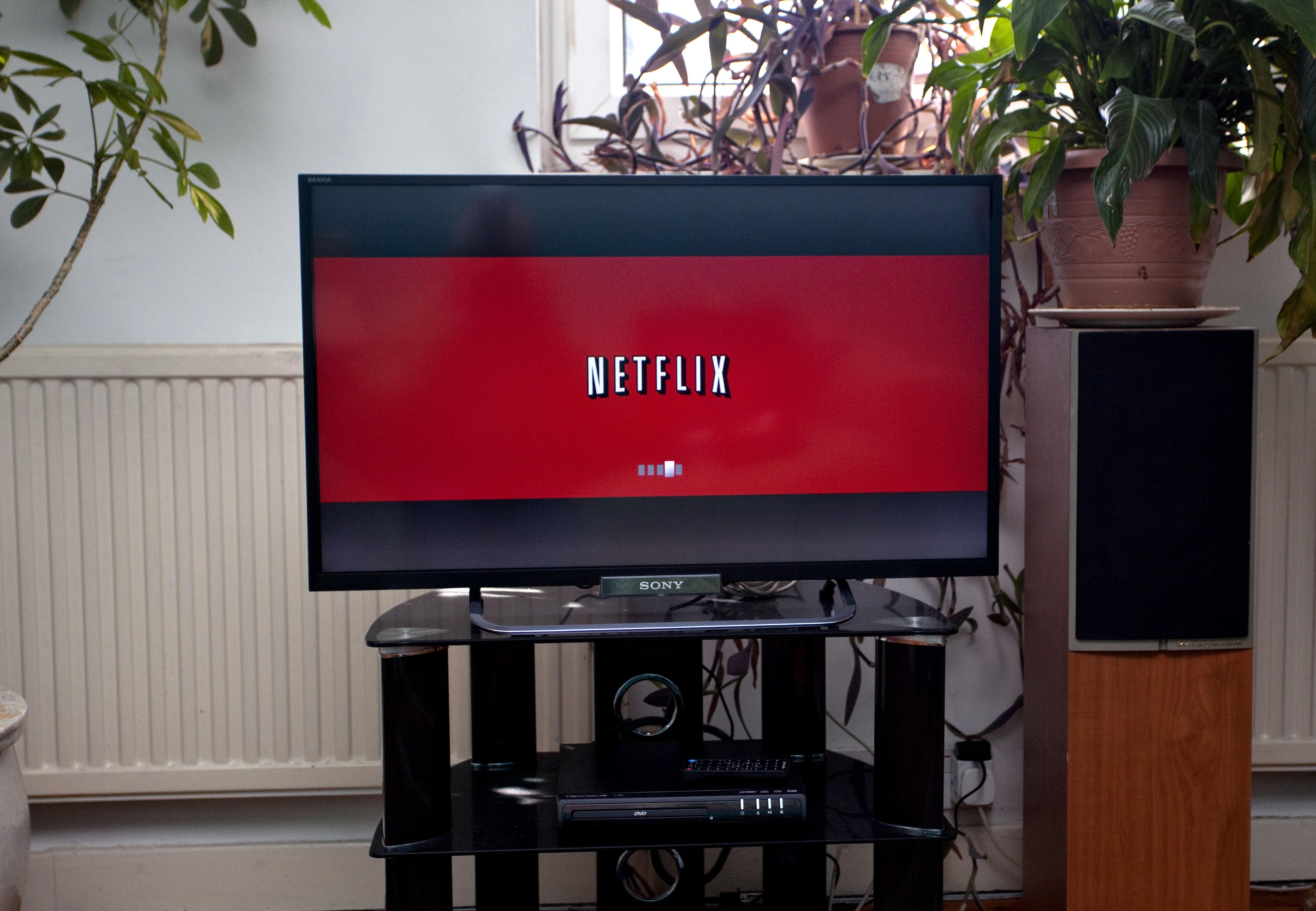 Netflix på en tv-skærm (Foto: All Over)